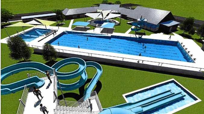 SNEAK PEEK: Plans in motion for $8 million pool upgrade