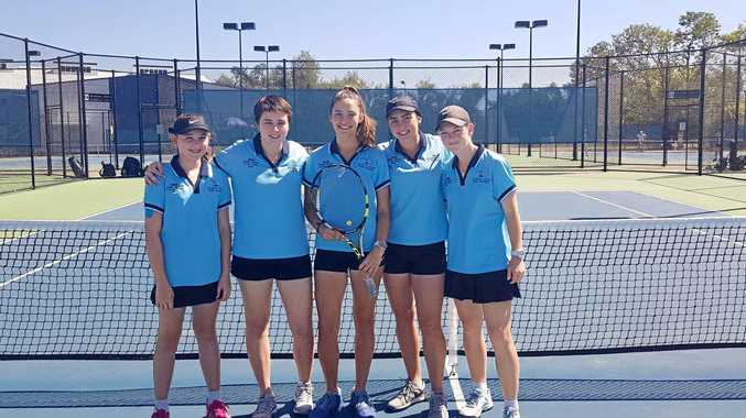 Biloela high students success on the tennis courts