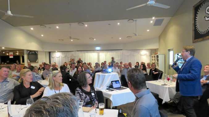 DINNER WITH THE MAYOR: About 75 people attended the annual Mayoral Dinner in Cooroy.