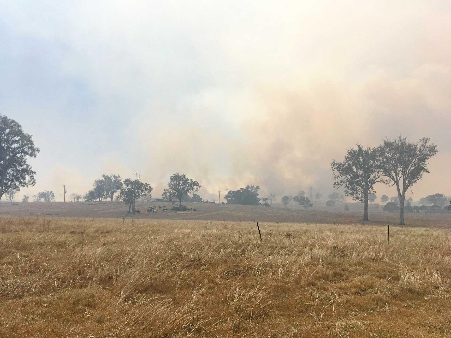 Woolooga fire
