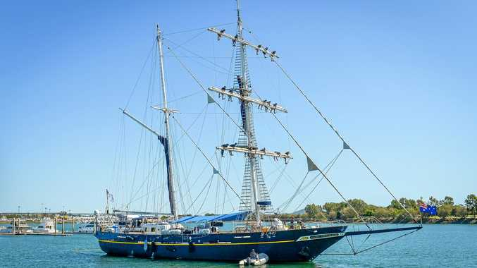 Gladstone Harbour no stranger to historic vessels