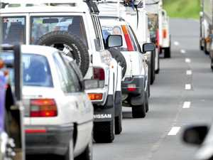 Traffic queues cause Pacific Highway delays