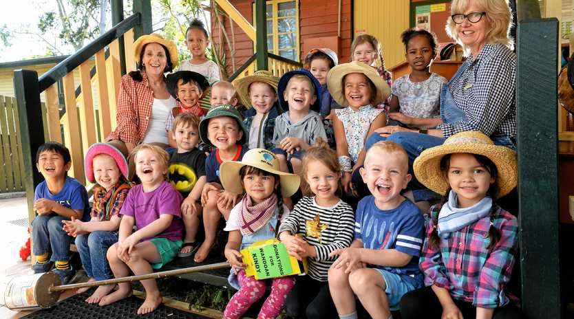 MERCY MISSION: The team from the C&K Church Street Kindergarten and Preschool have been fundraising for the Wandoan Kindy.