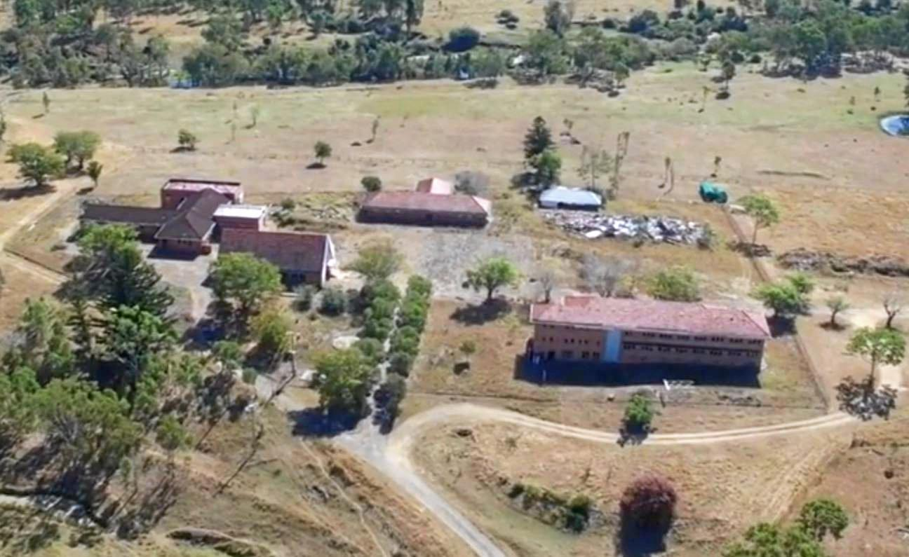 Drone footage of the Neerkol Orphanage.