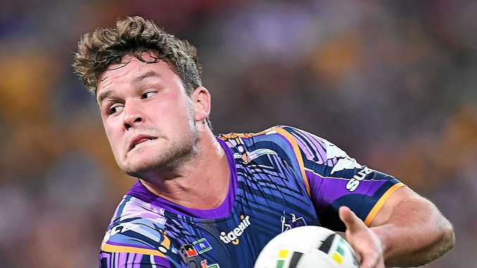 Joe Stimson become an integral member of a full-strength Melbourne Storm. Picture: Albert Perez/Getty Images