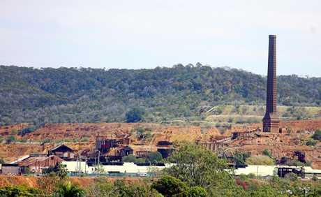 Mount Morgan mine site. Photo Chris Ison / Morning Bulletin