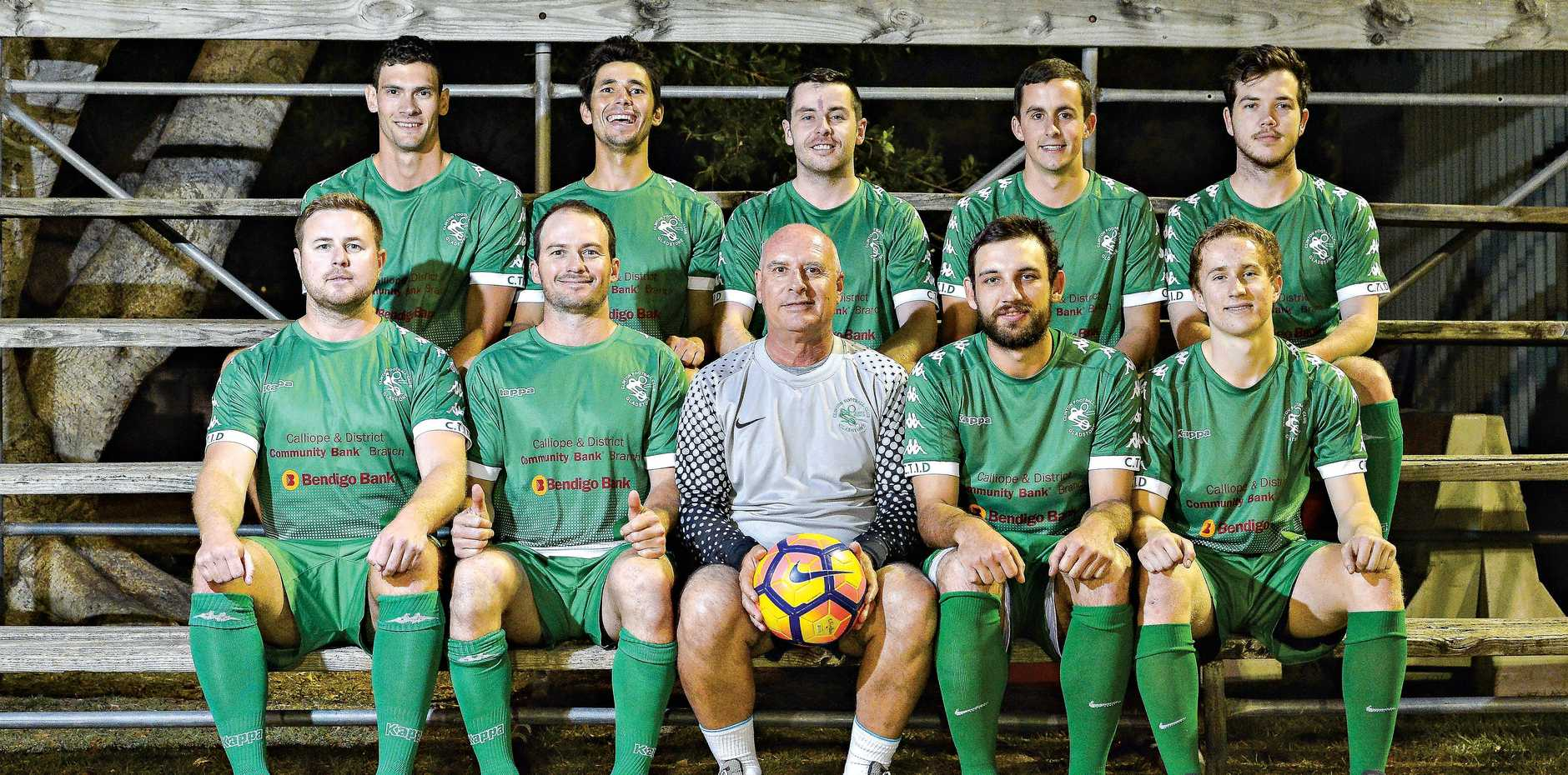 TOP SHOTS: Clinton FC Division One team are on track to claim the CQPL title.