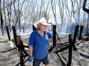 WOOLOOGA FIRE: 'Five more minutes and my house was gone'