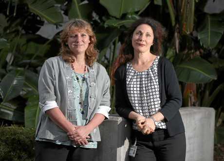 TEAM: Tweed Shire Mayor Katie Milne and Deputy Mayor Chris Cherry.