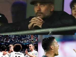 Champions League: City stunned, tearful Ronaldo sent off