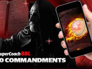 10 commandments of SuperCoach BBL