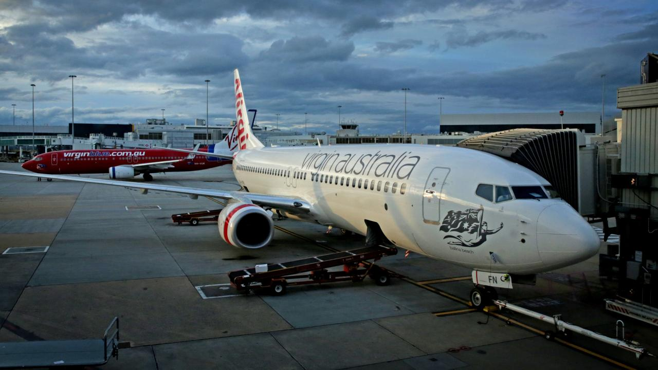 The Australian Transport Safety Bureau has handed down its findings into a dangerous landing of a Virgin Australia Boeing 737-800 at Christchurch. File image.
