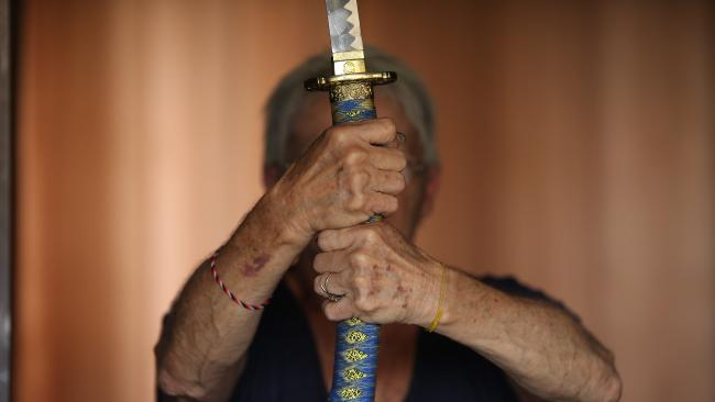 A man has had his fingers cut off with a samurai sword. Picture: File image
