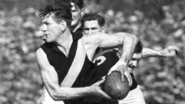Richmond legend Jack Dyer hated Collingwood.