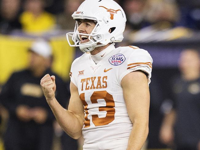 Michael Dickson broke records in his college career with Texas.