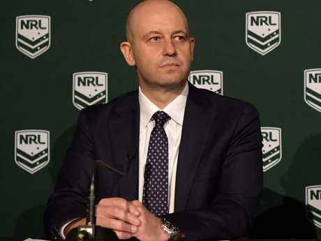 Todd Greenberg says the NRL can't do anything until its investigation is complete. Picture: Simon Bullard