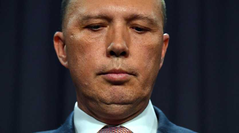 Minister for Home Affairs Peter Dutton. Pic: AAP/Mick Tsikas