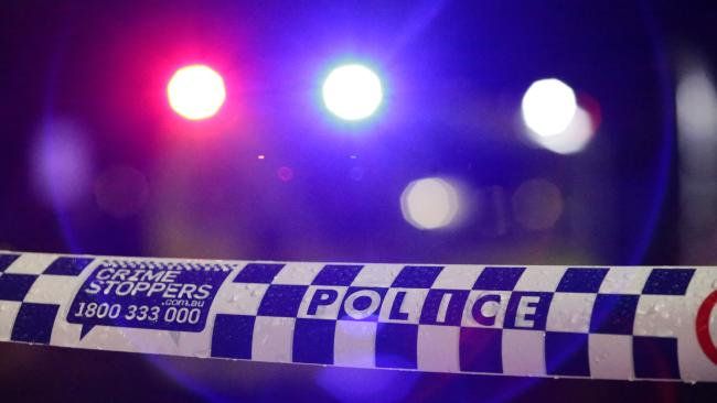 Woman taken to hospital after allegedly being hit in the head with a baseball bat.