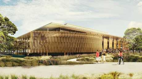 USC Moreton Bay Campus at Petrie. Photo: Hassell Studio