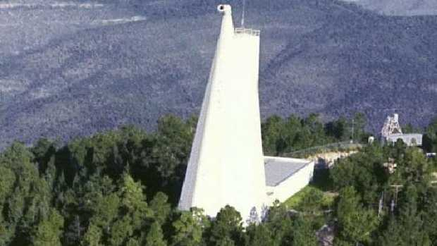 The Sunspot Solar Observatory in New Mexico has been at the centre of alien conspiracy theories since the FBI evacuation on September 6. Picture: Supplied