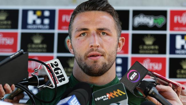 Is there more to the Sam Burgess story? Picture: Brett Costello