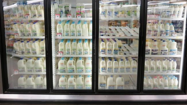 Woolworths is upping the price of its homebrand milk. Picture: Getty
