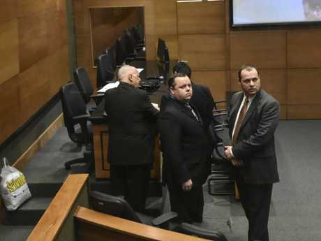 Lawyers in the courtroom. Picture: News Corp Australia