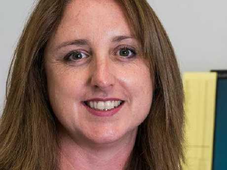 Shark attack victim Justine Barwick, from Burnie, Tasmania.