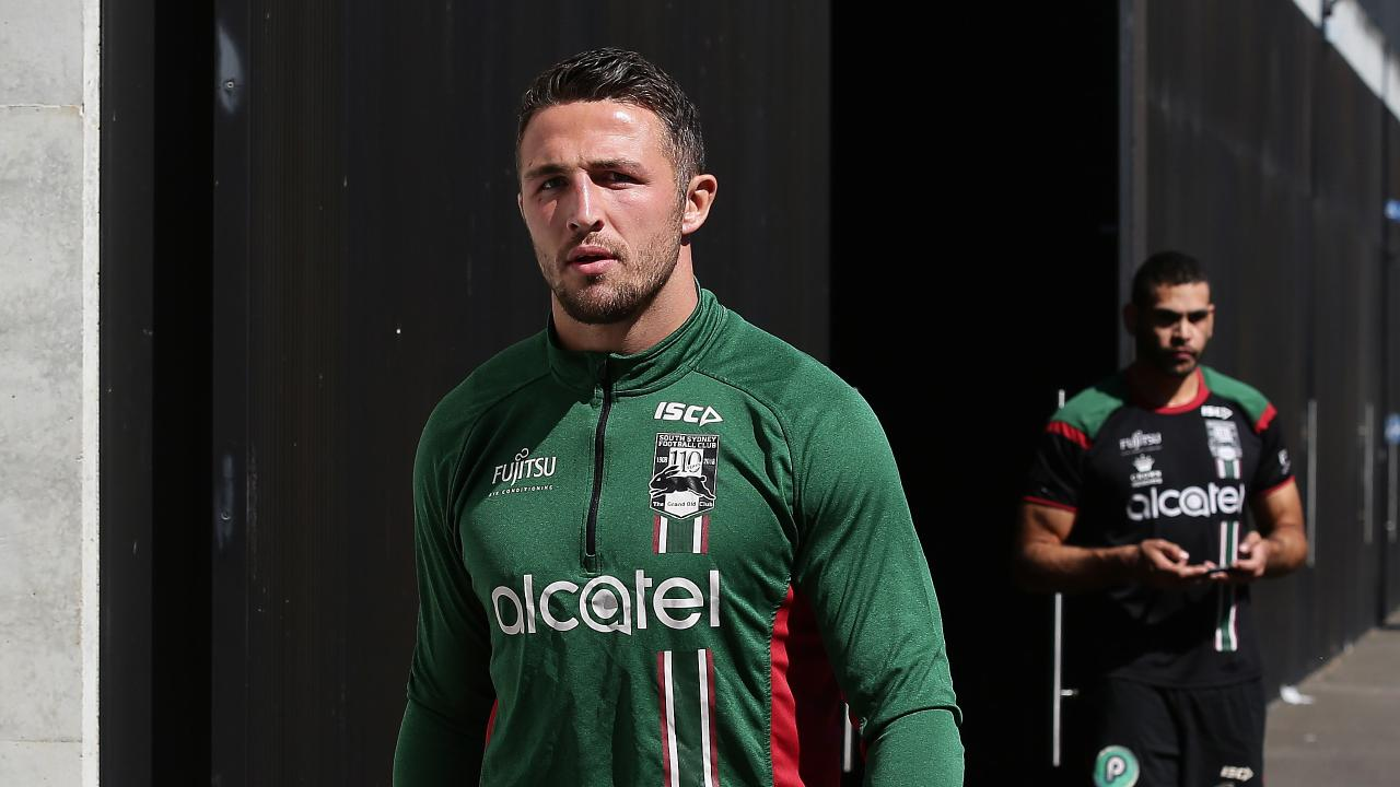 The exchanges were found to involve a social media account belongong to Sam Burgess. Picture: Brett Costello