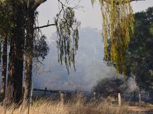 Fireys launch assault on Sunshine Coast bushfire