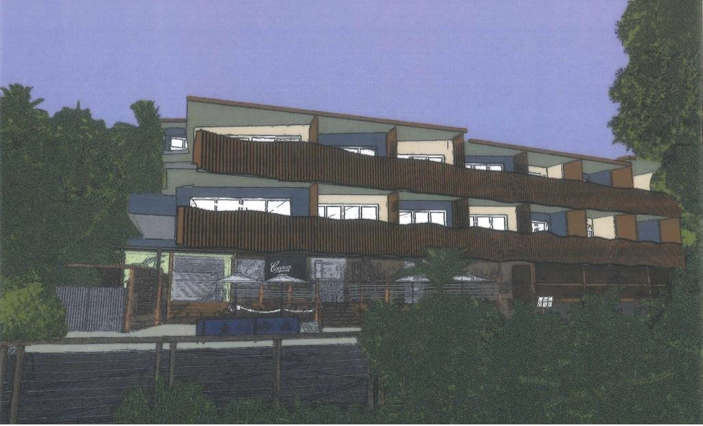 An artist's impression of the development at 1770 Beach Hotel.