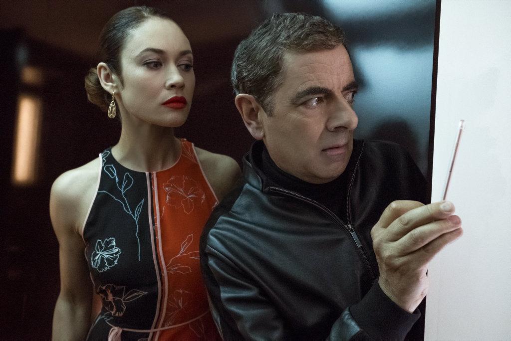 Friend or foe? Bond girl Olga Kurylenko plays Ophelia.