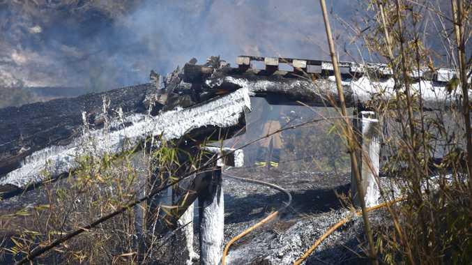 UPDATE: 10,000ha destroyed so far in Woolooga bushfire