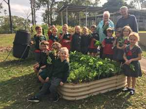 GREEN THUMBS: Caniaba Public School won first prize