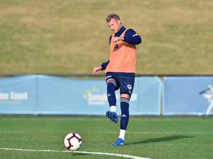 SOCCER: Melbourne Victory open training session at