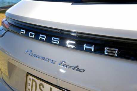 2018 Porsche Panamera Turbo Sport Turismo.
