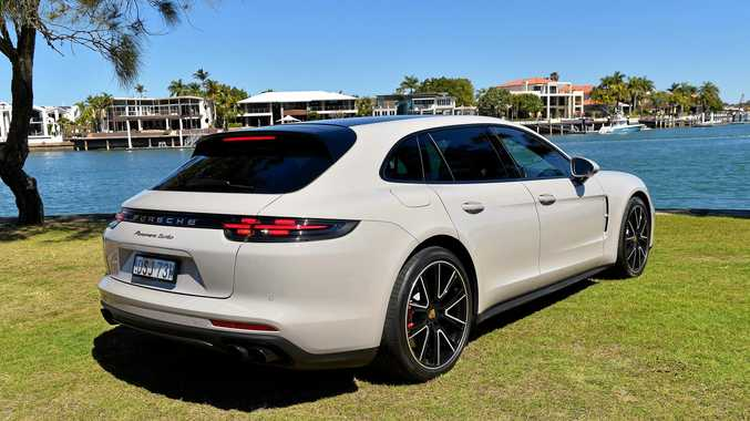 Porsche station wagon can take off like a rocket