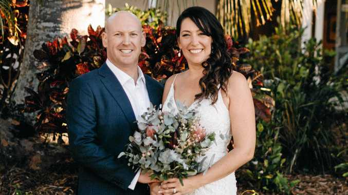 Brianna Rule has tied the knot with Scott Campbell.