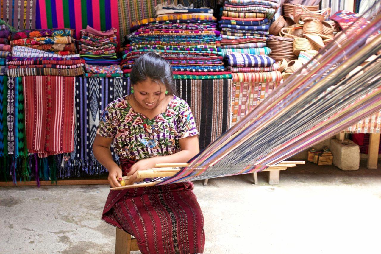 The Single Mothers' Co-operative, of San Juan La Laguna, Guatemala.
