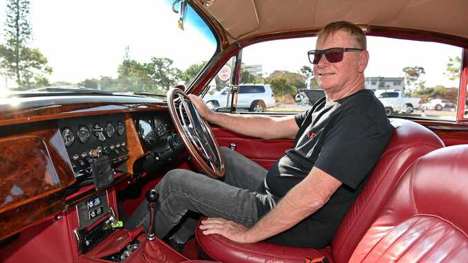 Peter Lehrke's 1962 Jaguar Mk2