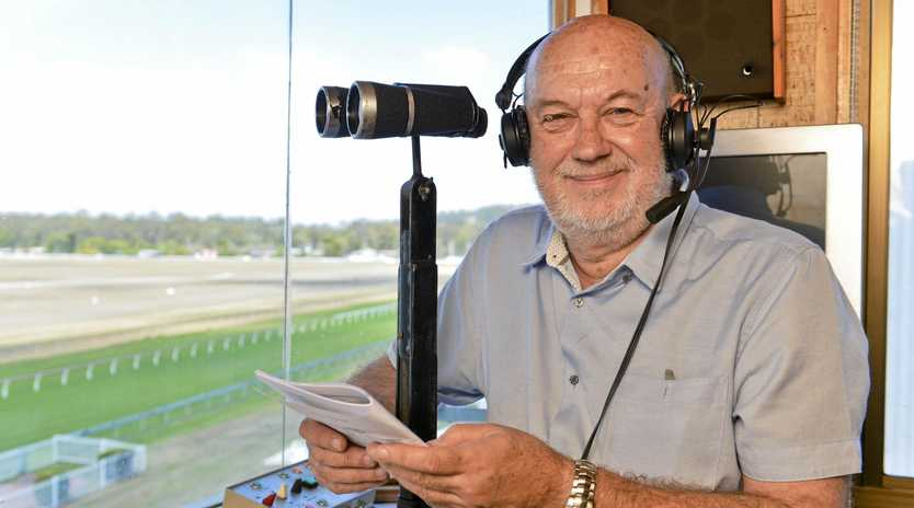 VOICE OF REASON: Popular race caller Paul Dolan reflects on his last stint at Bundamba before a final Ipswich farewell at the Showgrounds.