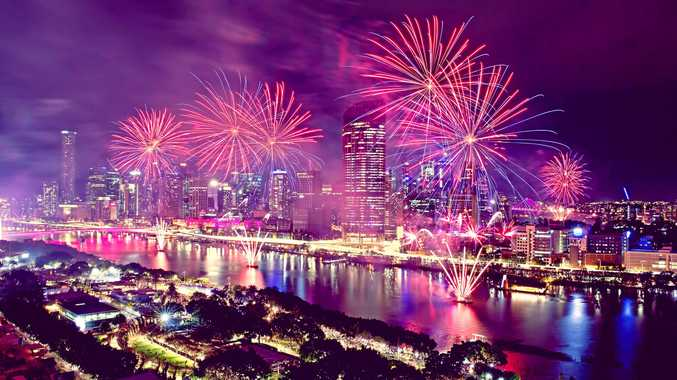 The Riverfire fireworks display is one of the major spring events in Brisbane. Supplied by Aruga PR.
