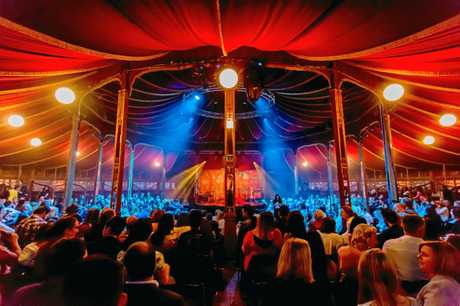 The Spiegeltent is the centrepiece of the Brisbane Festival. Supplied by Aruga PR.