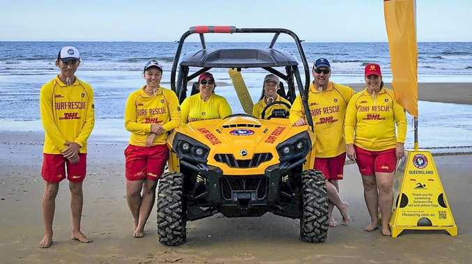 The lifesavers are back but don't be complacent at the beach