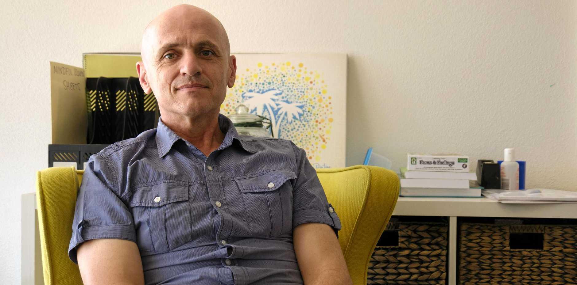 SUPPORT: Bridges program leader Brett Hayes said a rehab facility is not what Bundaberg needs.