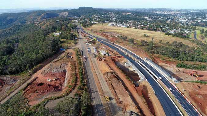 RANGE CROSSING: Dalby business met as work progresses on Toowoomba Second Range Crossing.