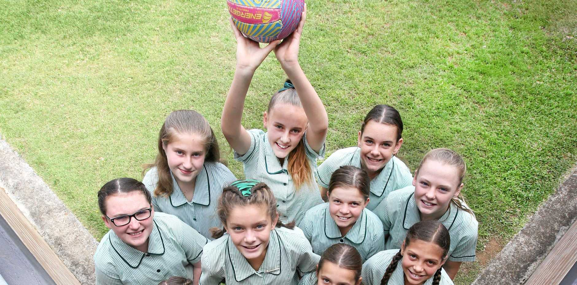 FINAL 8: Banora Point Primary's netball team is closing in on the state championship.