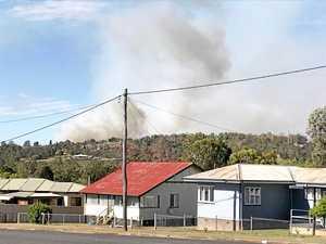 STAY INFORMED: Fireys monitor Glan Devon bushfire