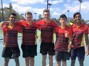RGS tennis team crowned Country Champions