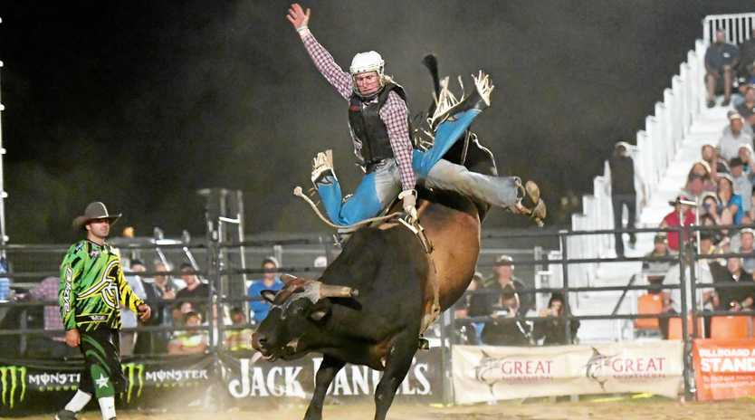 MR CONSISTENCY: Aaron Kleier on Sweet Pro's Chemical Weapon at the PBR Monster Energy Tour at Bendigo Victoria.